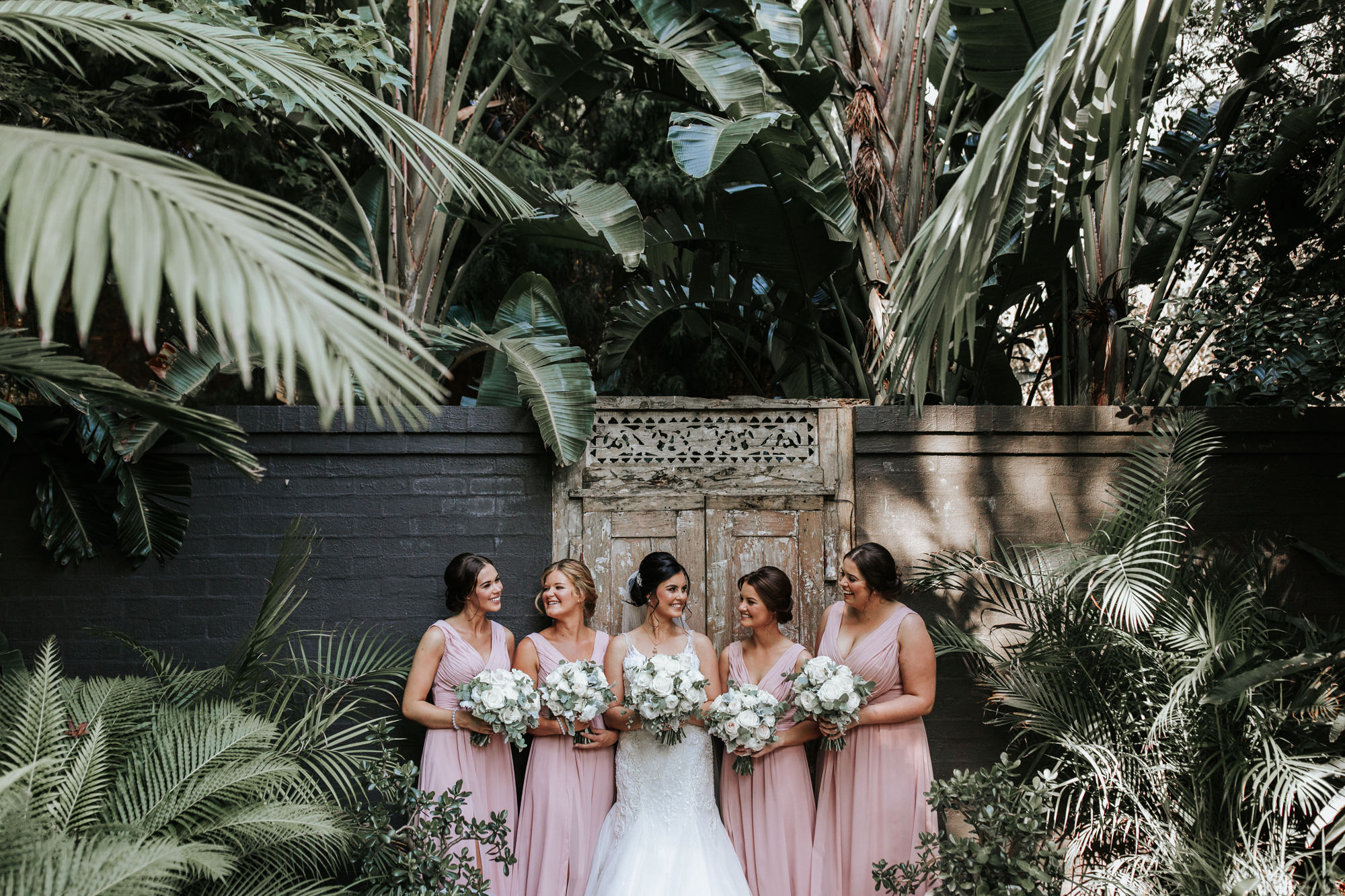 bridiesmaids at jaspers berry - southern highlands wedding venues