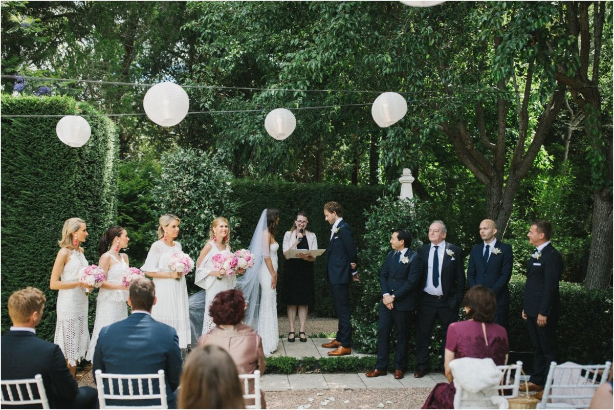 a southern highlands wedding venue ceremony