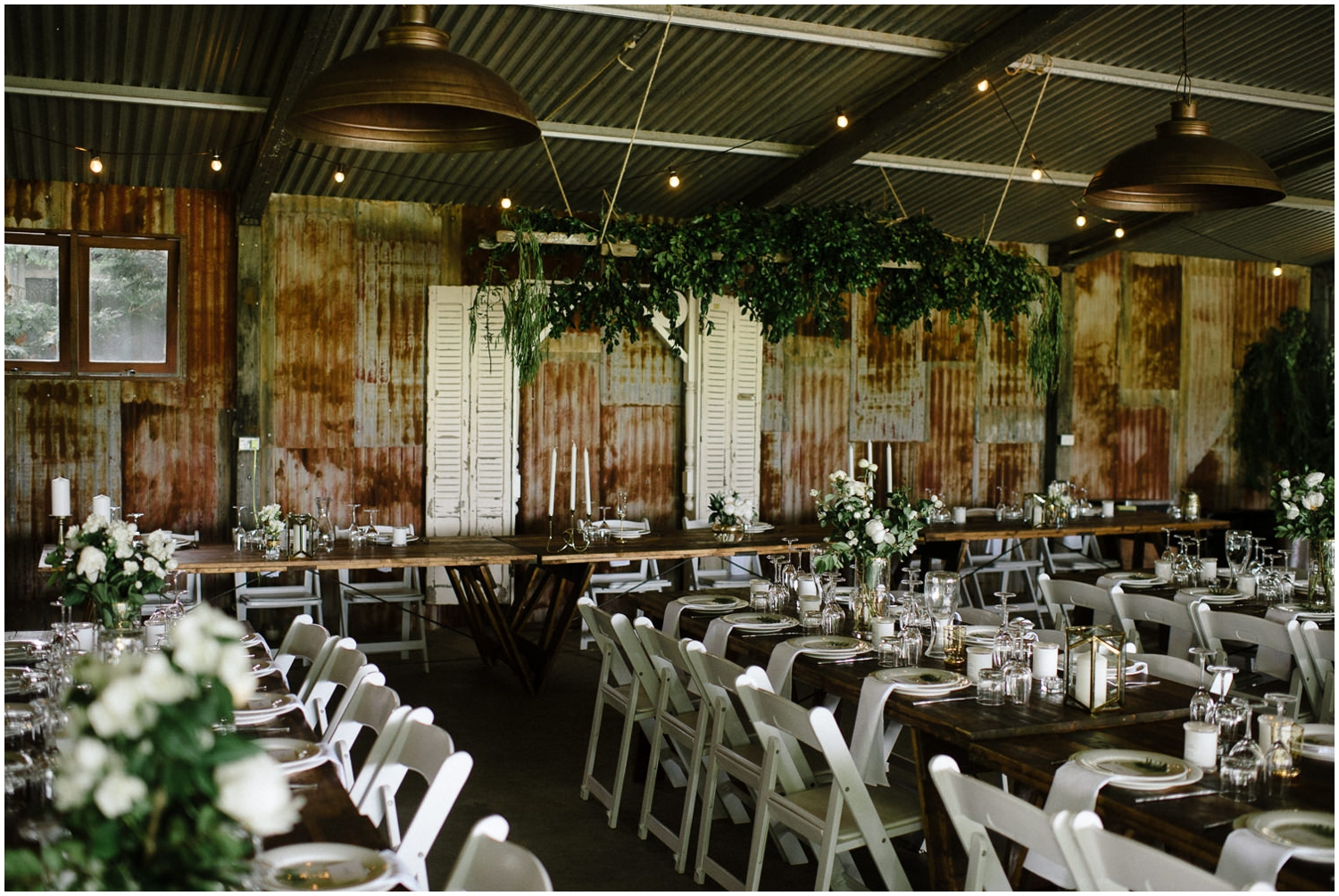 southern highland wedding venues - shed