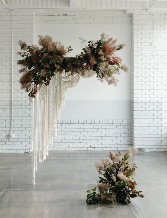 floating wedding arch design