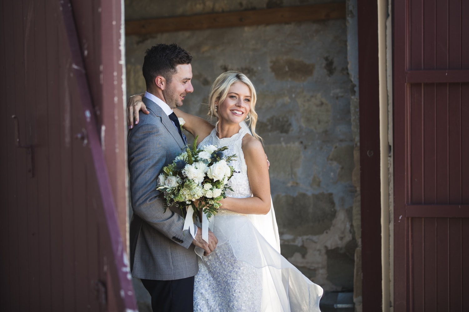 ash and andrew - australian winter wedding