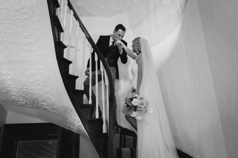 terragong house with a sydney wedding photographer